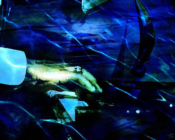 Voyage Digital Art - Maiden Voyage by Ken Walker