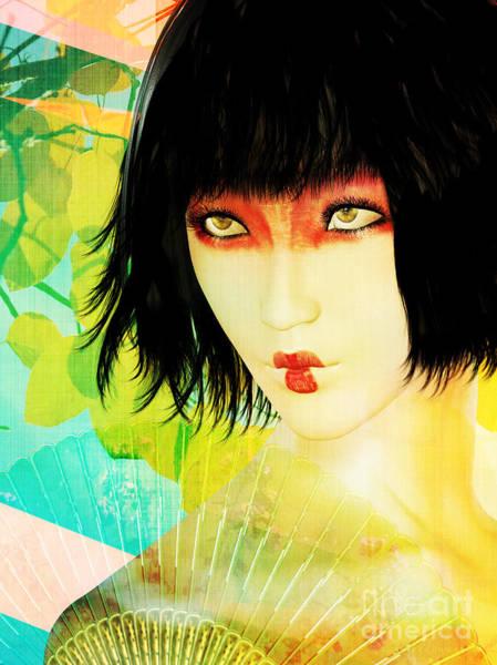 Wall Art - Digital Art - Maiko by Shanina Conway