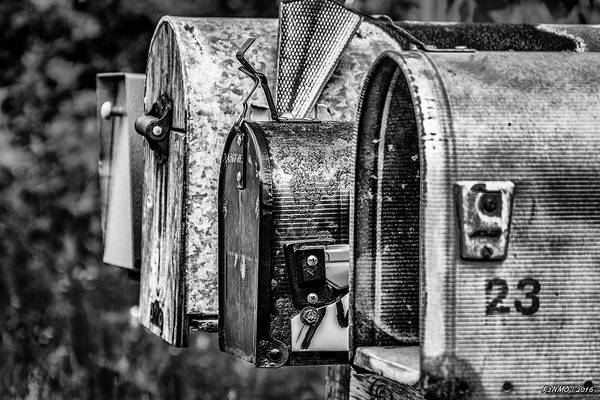 Cabot Trail Photograph - Mail Boxes In Baddeck by Ken Morris