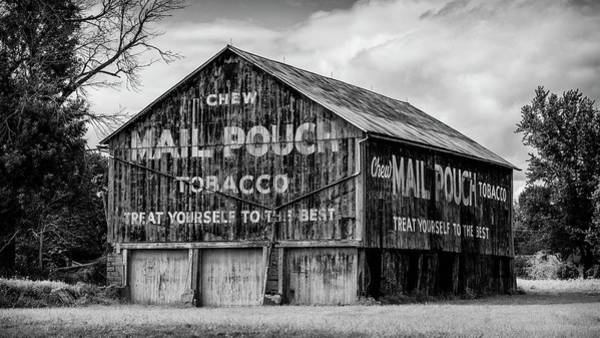 Pouch Wall Art - Photograph - Mail Pouch Barn - Us 30 #1 by Stephen Stookey