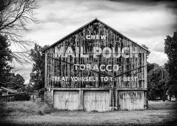 Wall Art - Photograph - Mail Pouch Barn - Us 30 #2 by Stephen Stookey