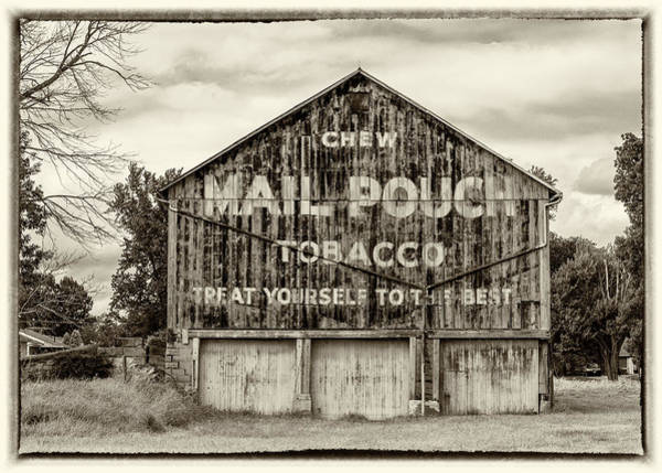 Wall Art - Photograph - Mail Pouch Barn - Us 30 #5 by Stephen Stookey