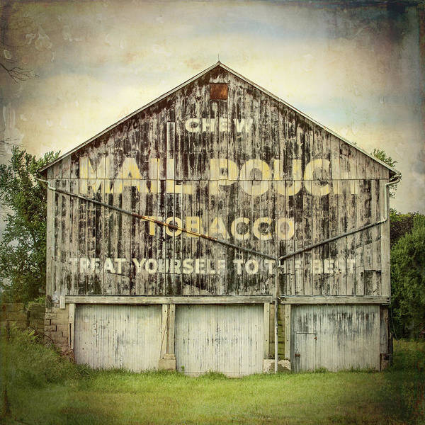 Pouch Wall Art - Photograph - Mail Pouch Barn - Us 30 #7 by Stephen Stookey