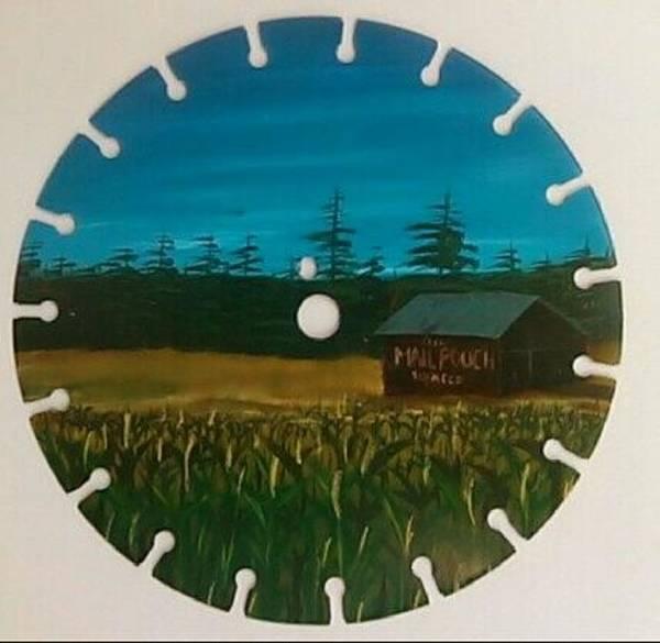 Bier Painting - Mail Pouch Field by Matt Bier