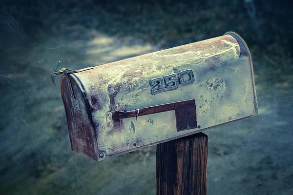 Tin Box Photograph - Mailbox 250 El Camino Drive by YoPedro