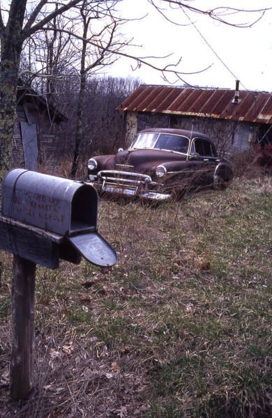 Photograph - Mailbox Car by Curtis J Neeley Jr