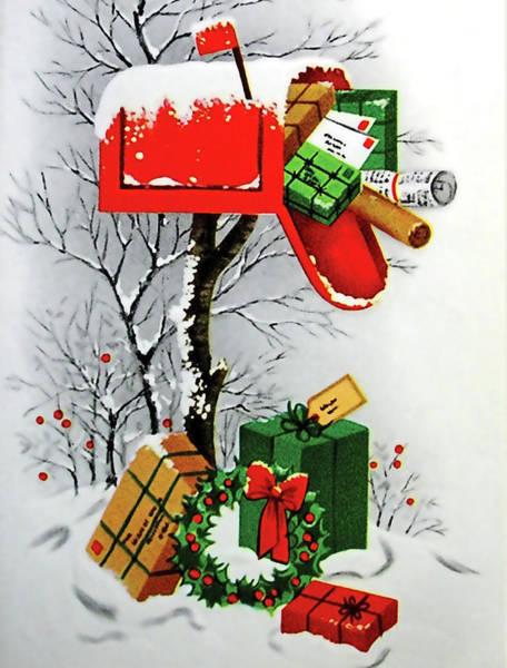 Christmas Gift Digital Art - Mailbox Full Of Gifts by Long Shot