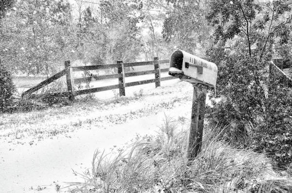 Photograph - Mailbox Snow by Scott Hansen