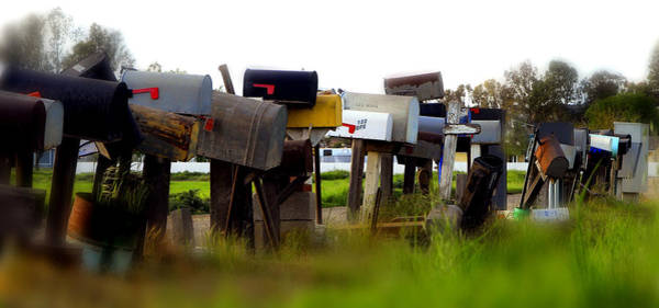 Mailboxes 2 Art Print
