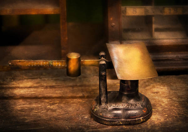 Photograph - Mailman - The Mail Scale by Mike Savad