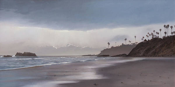Painting - Main Beach Reflections by Cliff Wassmann