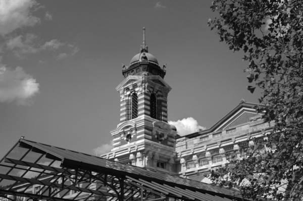 Photograph - Main Building - Ellis Island by Frank Mari