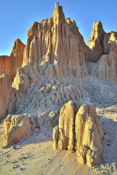 Photograph - Main Cathedral In Cathedral Gorge by Ray Mathis