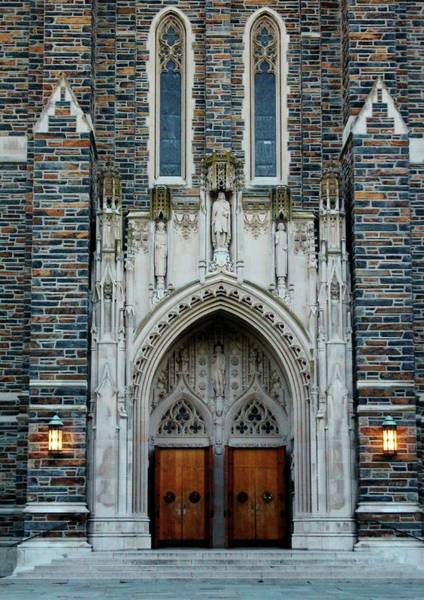 Wall Art - Photograph - Main Entrance To Chapel by Cynthia Guinn