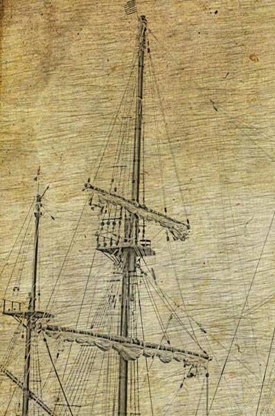 Photograph - Main Mast by Stewart Helberg