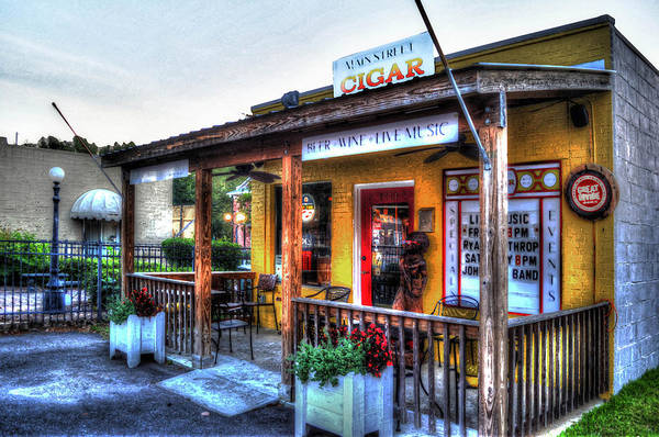 Photograph - Main Street Cigars by Michael Thomas