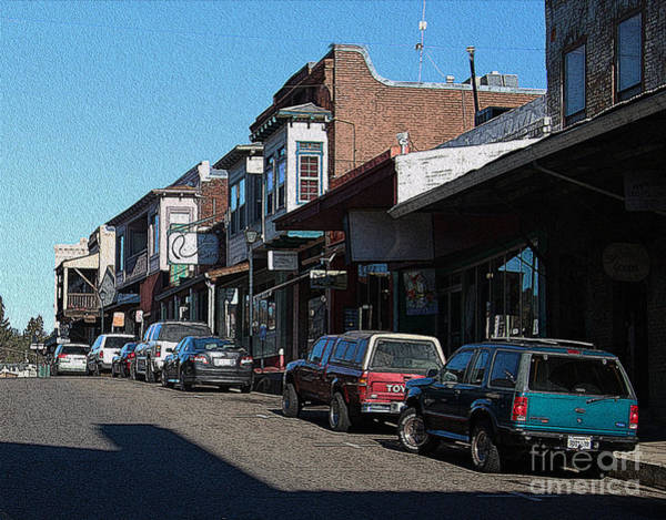 Wall Art - Photograph - Main Street Jackson City by Anthony Forster