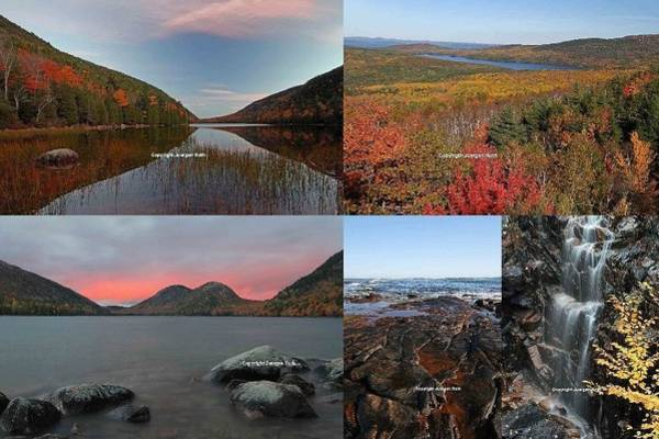 Photograph - Maine Acadia National Park Landscape Photography by Juergen Roth