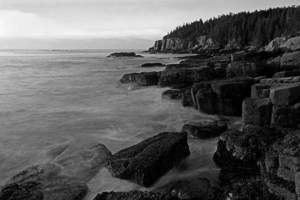 Photograph - Maine Acadia National Park Seascape by Juergen Roth