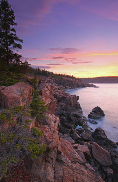 Photograph - Maine Acadia National Park Seascape Photography by Juergen Roth