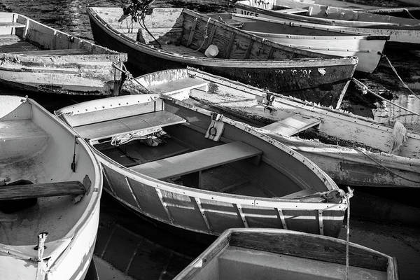 Art Print featuring the photograph Maine Boats by Ranjay Mitra
