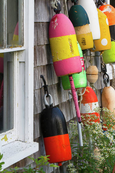 Photograph - Maine Buoys by Juergen Roth
