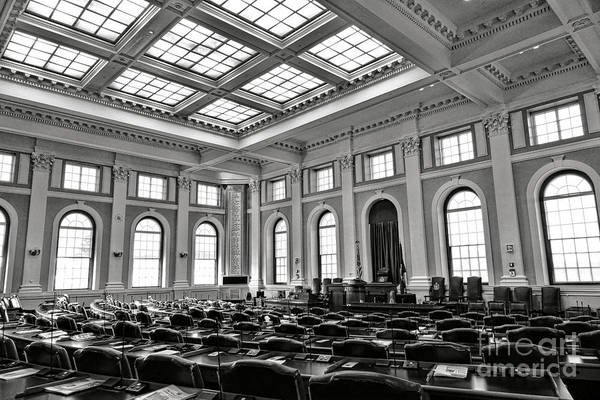 Photograph - Maine Capitol House Of Representatives Chamber by Olivier Le Queinec