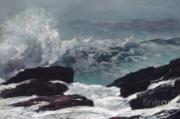 Outcrop Painting - Maine Coast, 1896 by Winslow Homer
