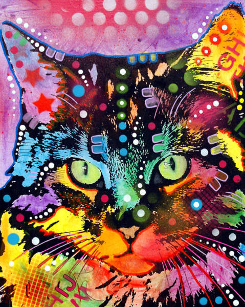 Maine Wall Art - Painting - Maine Coon by Dean Russo Art