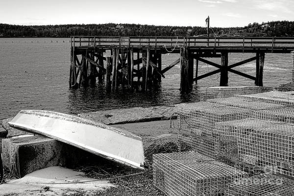 Photograph - Maine Harbor Scene by Olivier Le Queinec