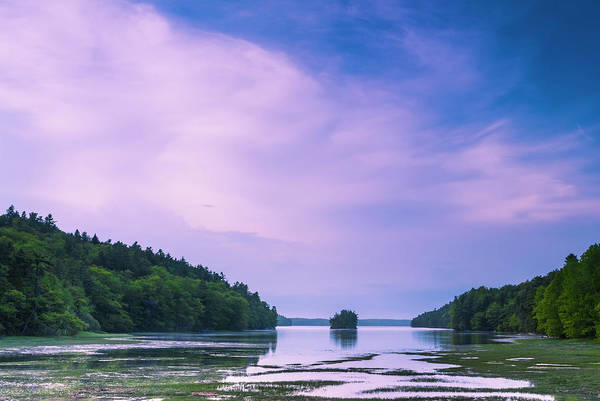 Photograph - Maine Island In Harpswell At Blue Hour by Ranjay Mitra
