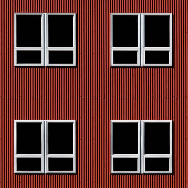 Photograph - Maine Windows 3 by Stuart Allen