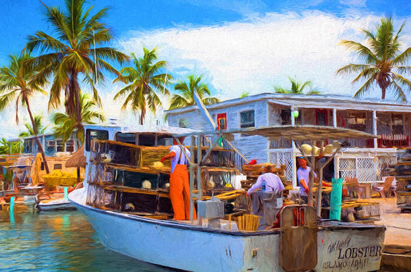 Photograph - Conch Key Mainly Lobster 2 by Ginger Wakem