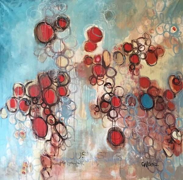Painting - Maintain Your Faith by Laurie Maves ART