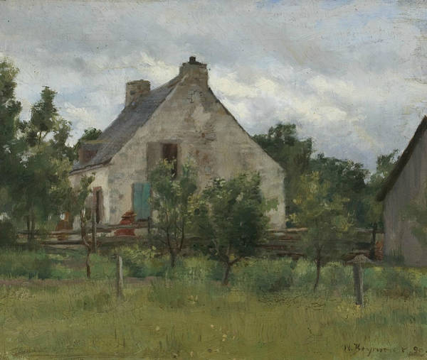 Painting - Maison De Champagne by William Brymner