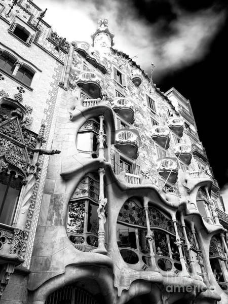 Photograph - Majestic Casa Batllo In Barcelona by John Rizzuto