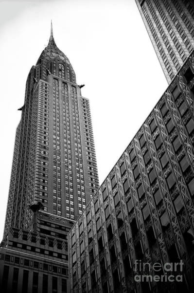 Photograph - Majestic Chrysler Building by John Rizzuto