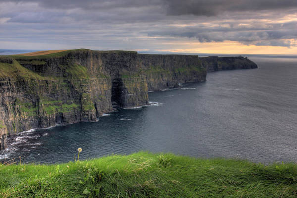 Moher Photograph - Majestic Cliffs Of Moher Co. Clare Ireland by Pierre Leclerc Photography