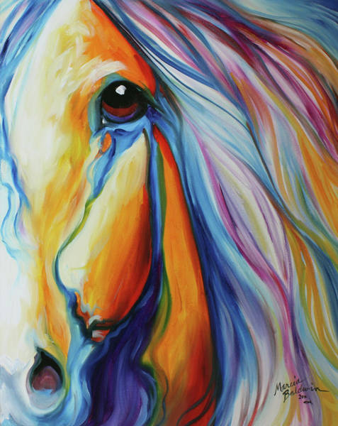 Painting - Majestic Equine 2016 by Marcia Baldwin