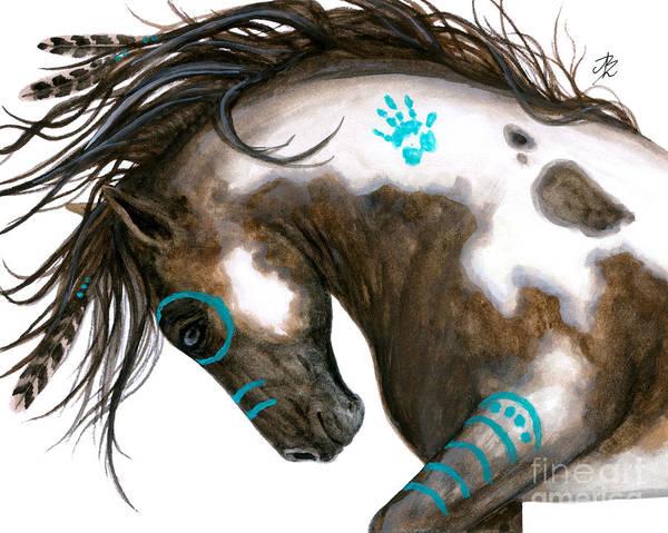 Majestic Wall Art - Painting - Majestic Horse #151 by AmyLyn Bihrle
