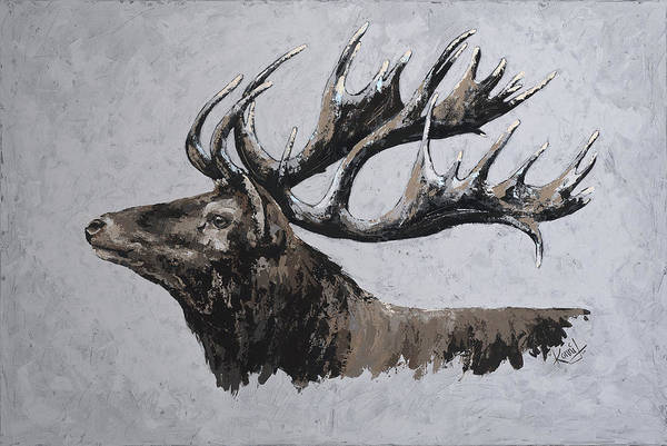 Painting - Majestic by Konni Jensen