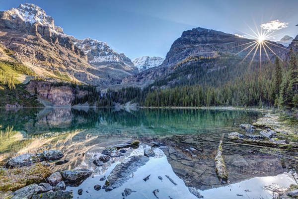 Photograph - Majestic Lake O'hara by Pierre Leclerc Photography