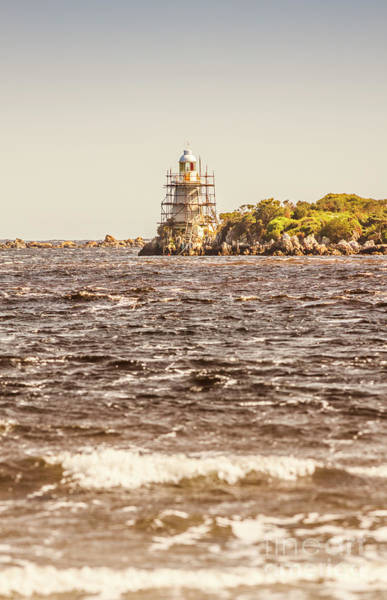 Photograph - Majestic Lighthouse Harbour by Jorgo Photography - Wall Art Gallery