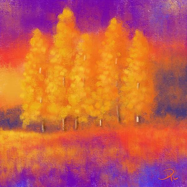 Wall Art - Digital Art - Majestic Morning by David G Paul