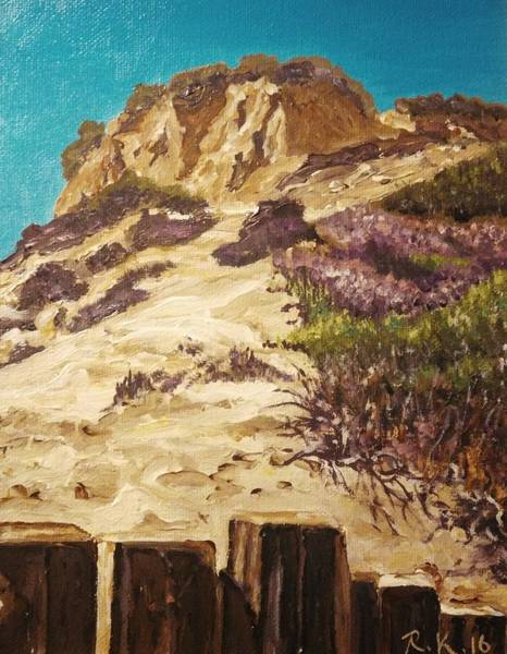 Painting - Majestic Rocks by Ray Khalife