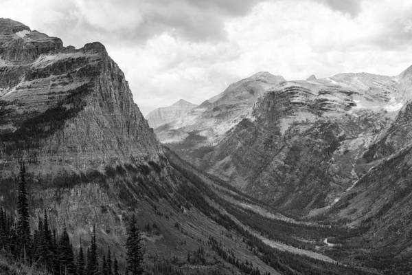 Photograph - Majestic Sweep - Glacier Np by Belinda Greb