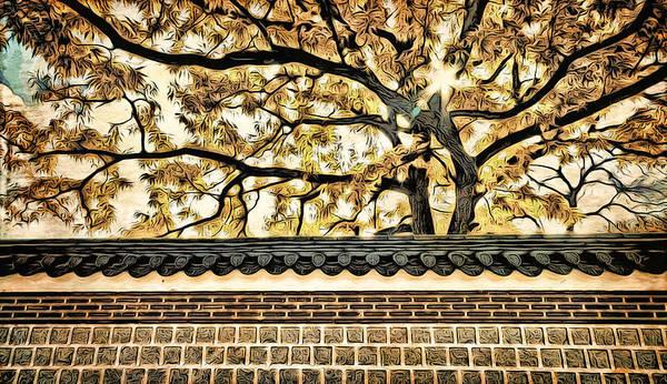 Digital Art - Majestic Tree by Cameron Wood