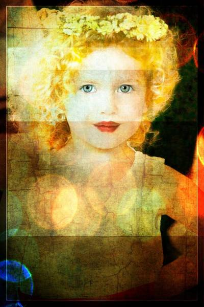 Photograph -  Golden Curls by Alice Gipson