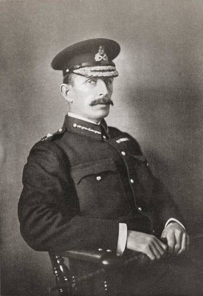 Brigade Drawing - Major-general R A P Clements, Commander by Vintage Design Pics