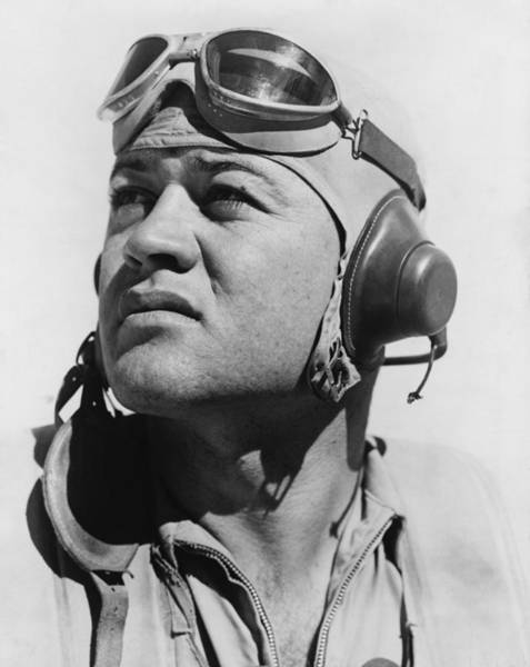 Medal Of Honor Photograph - Major Gregory Pappy Boyington by Everett